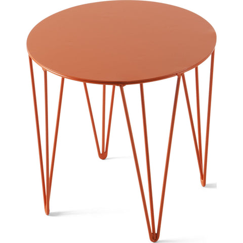 Atipico Chele 30 Rounded Coffee Table |Traffic Orange 7200