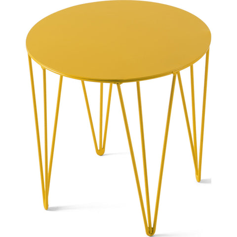 Atipico Chele 30 Rounded Coffee Table |Traffic Yellow 7201