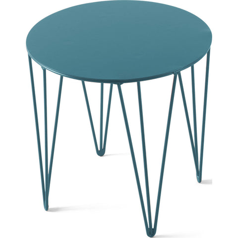 Atipico Chele 30 Rounded Coffee Table |Turquoise Blue 7202