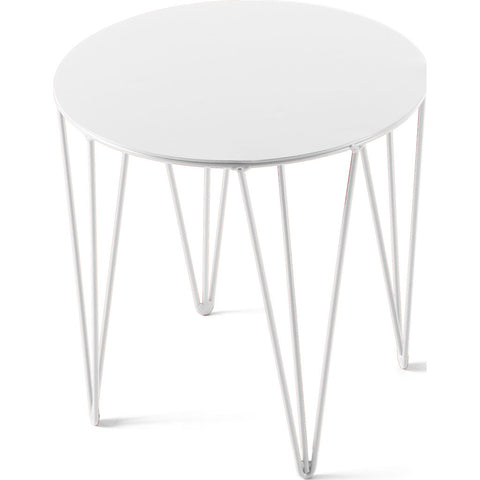 Atipico Chele 30 Rounded Coffee Table |Signal White 7209