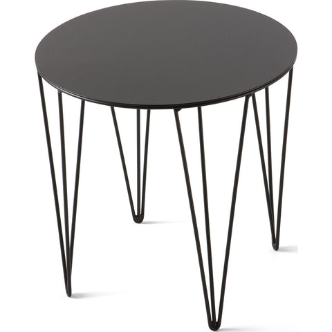 Atipico Chele 35 Rounded Coffee Table | Jet Black 7210
