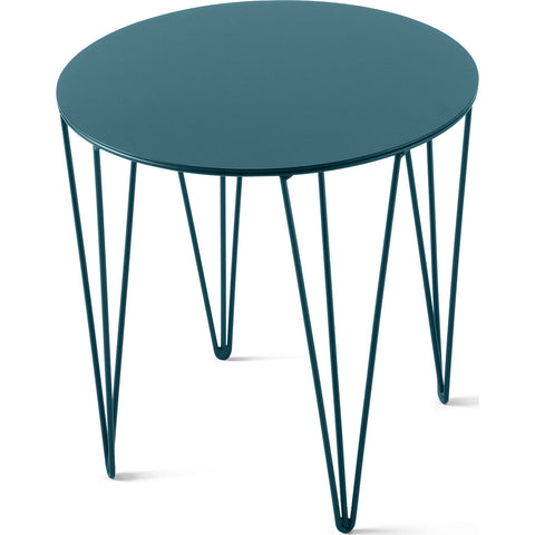 Atipico Chele 35 Rounded Coffee Table | Turquoise Blue 7212