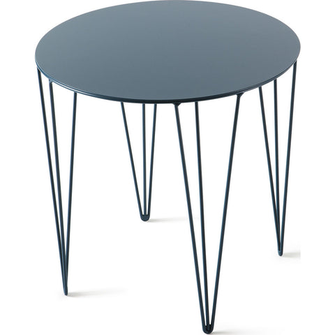Atipico Chele 40 Rounded Coffee Table | Ocean Blue 7230