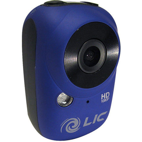 Liquid Image Model 727 Ego WiFi Mountable Action Camera | Blue