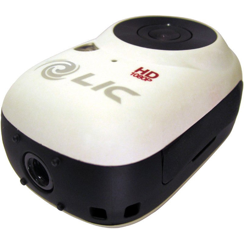 Liquid Image Model 727W Ego WiFi Mountable Action Camera | White