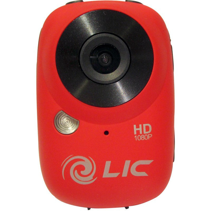 Liquid Image Model 727 Ego WiFi Mountable Action Camera | Red