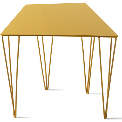 Atipico Chele 36 Trapezoidal Coffee Table | Traffic Yellow 7301
