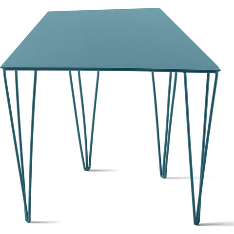 Atipico Chele 36 Trapezoidal Coffee Table | Turquoise Blue 7302