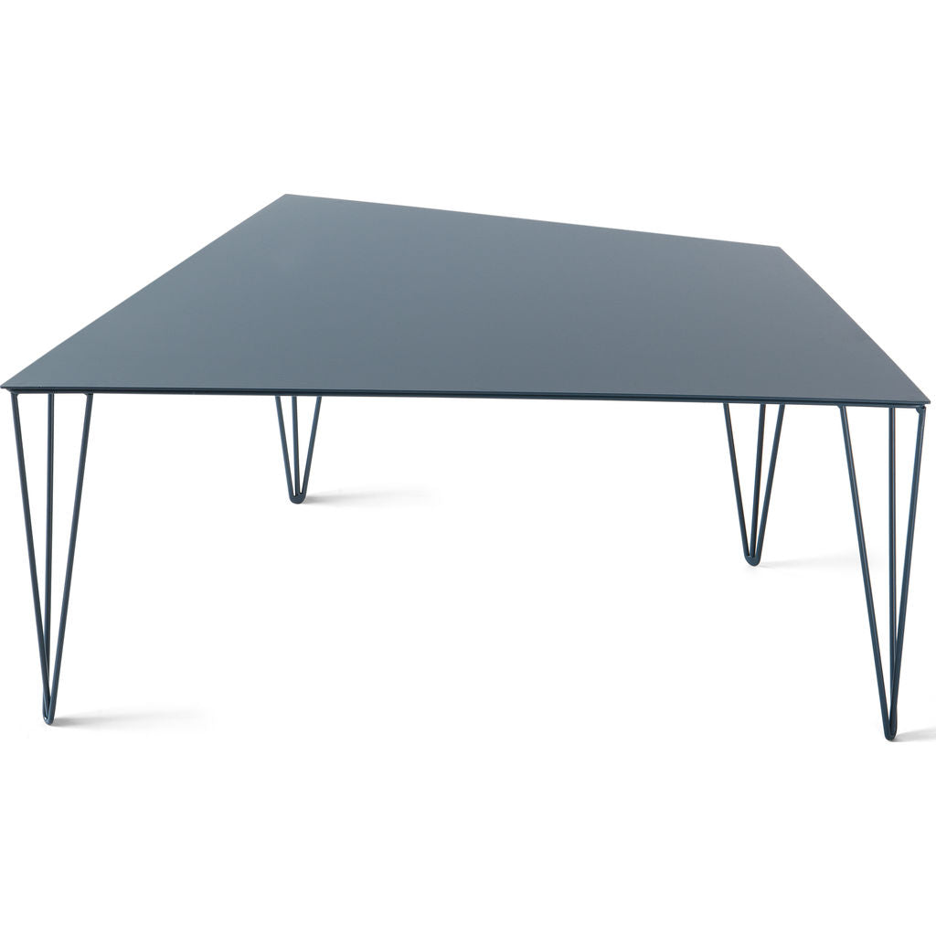 Atipico Chele 68 Trapezoidal Coffee Table | Ocean Blue 7310