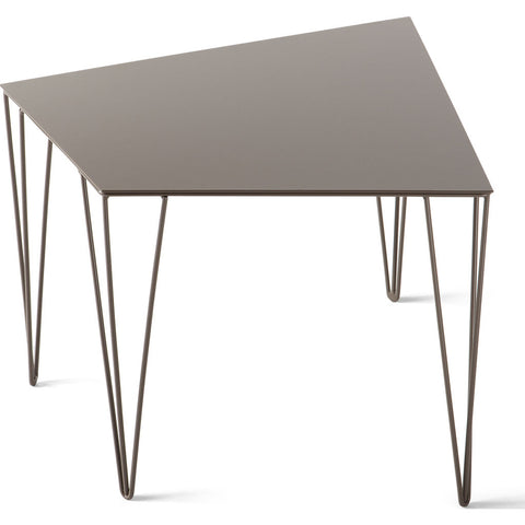 Atipico Chele 48 Trapezoidal Coffee Table | Beige Gray 7320