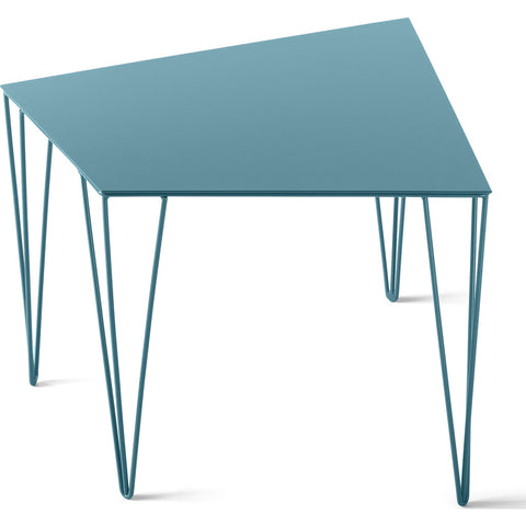 Atipico Chele 48 Trapezoidal Coffee Table | Turquoise Blue 7322