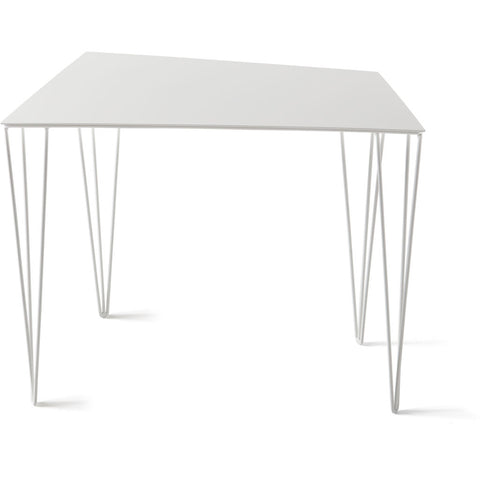 Atipico Chele 56 Trapezoidal Coffee Table |Signal White 7340