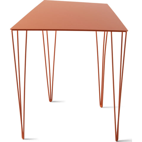 Atipico Chele 44 Trapezoidal Coffee Table | Traffic Orange 7350