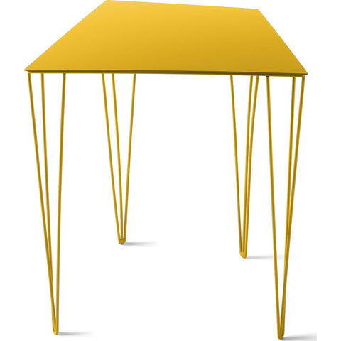 Atipico Chele 44 Trapezoidal Coffee Table | Traffic Yellow 7351