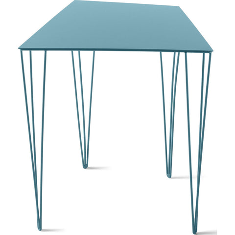 Atipico Chele 44 Trapezoidal Coffee Table | Turquoise Blue 7352