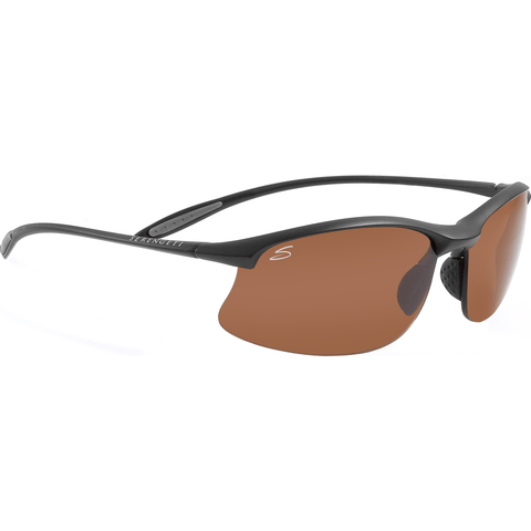 Serengeti Maestrale Satin Black Photochromic Sunglasses | Polar PhD Drivers 7356