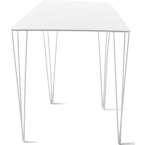 Atipico Chele 44 Trapezoidal Coffee Table | Signal White 7359