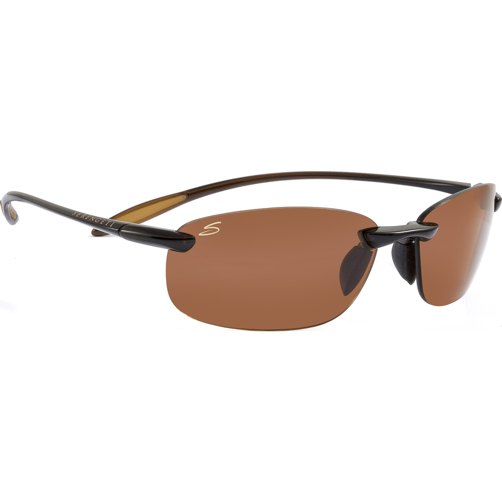 Serengeti Nuvola Shiny Brown Photochromic Sunglasses | Polar PhD Drivers 7360