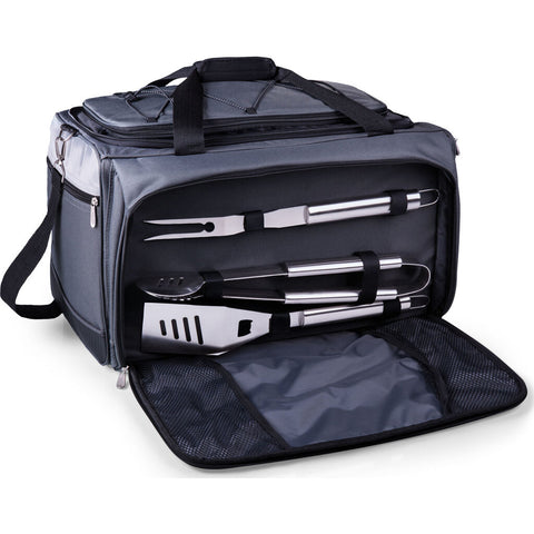 Picnic Time Oniva Buccaneer Portable Charcoal Grill & Cooler Tote