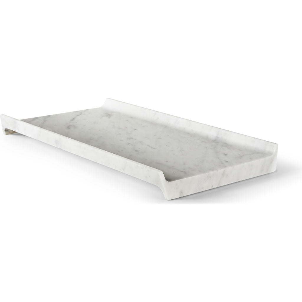 Atipico Slitta Carrara Marble Centerpiece | Medium 7675