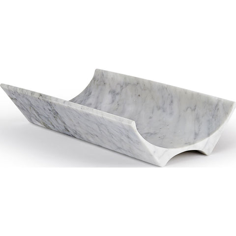 Atipico Arca Two Sided Centerpiece | Carrara Marble 7705