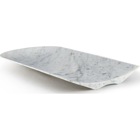 Atipico Arca One Sided Large Centerpiece | Carrara Marble 7710