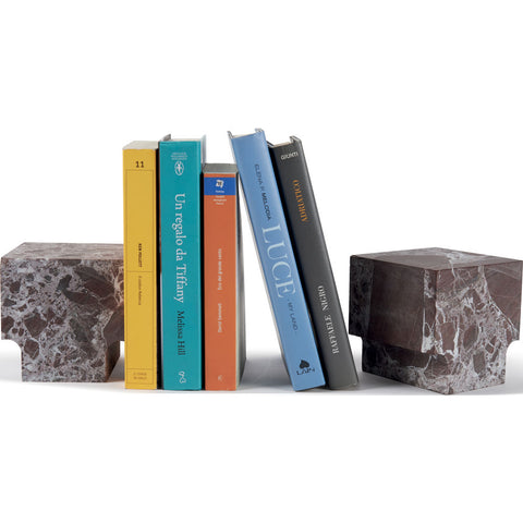Atipico Classico Marble Book End | Levanto Red 7720