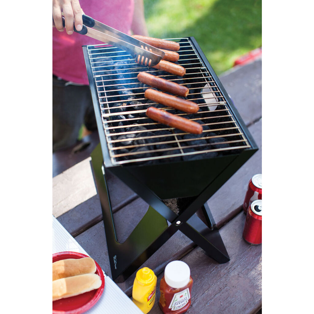 Picnic Time Oniva Portable BBQ X-Grill |  Charcoal