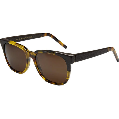 RetroSuperFuture People Sunglasses | Leather&Acetate 778