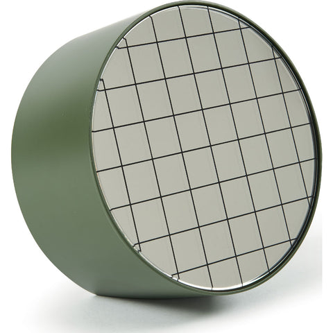 Atipico Centimetri 20 Wall Mirror | Olive Green/Black 7873