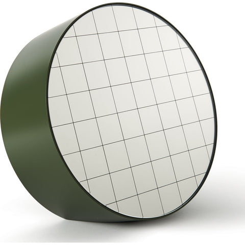 Atipico Centimetri 33 Wall Mirror | Olive Green/Black 7878