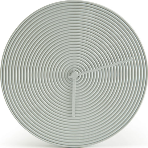Atipico Ring Ceramic Wall Clock | Grey 7904