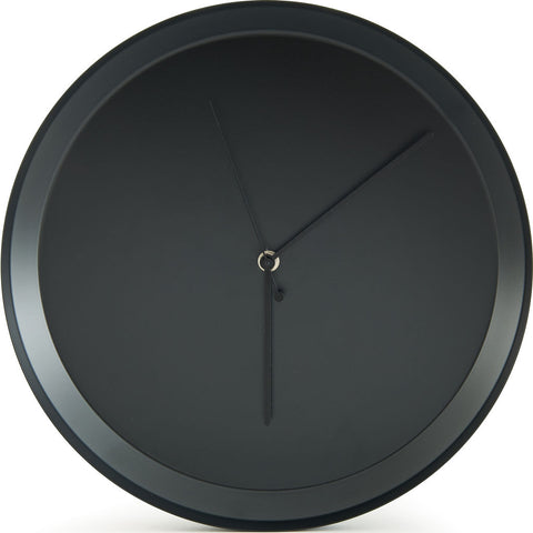 Atipico Dish Iron Wall Clock | Black Grey 7911