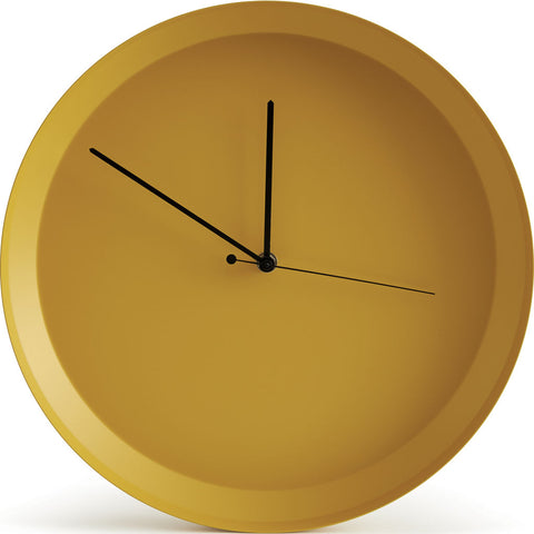 Atipico Dish Iron Wall Clock | Honey Yellow 7913