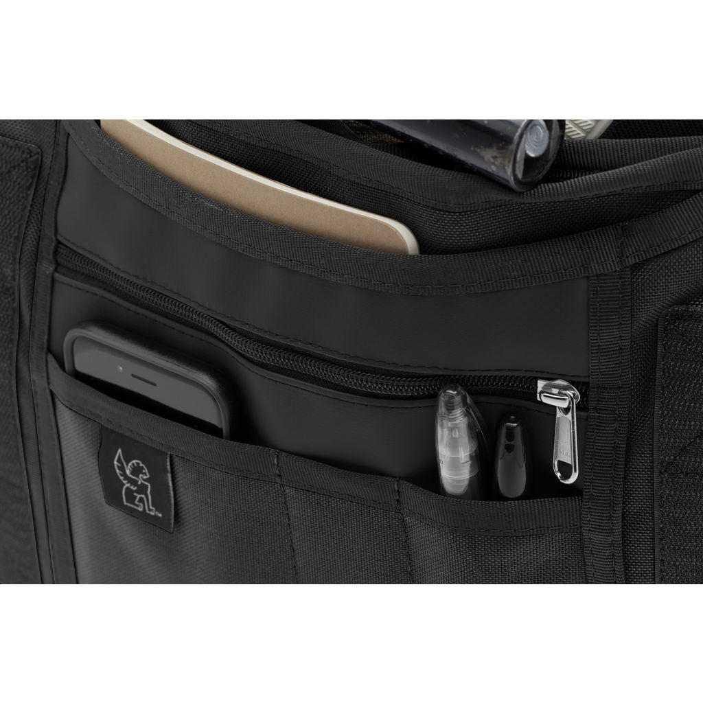 Chrome Citizen Messenger Bag | Black/Black BG-002