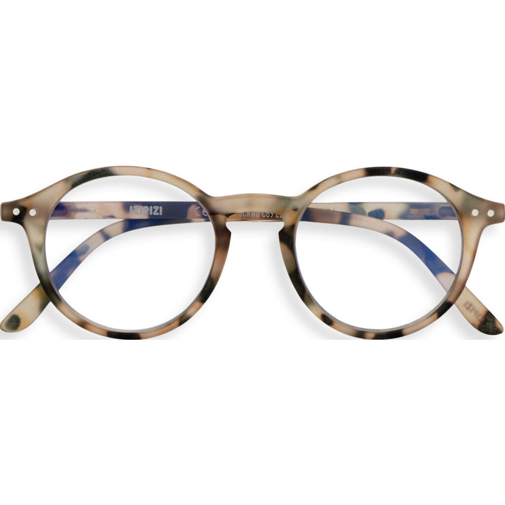 Izipizi Screen Glasses D-Frame | Light Tortoise