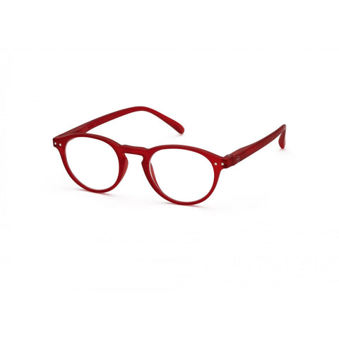 Izipizi Reading Glasses A-Frame | Red Crystal Soft