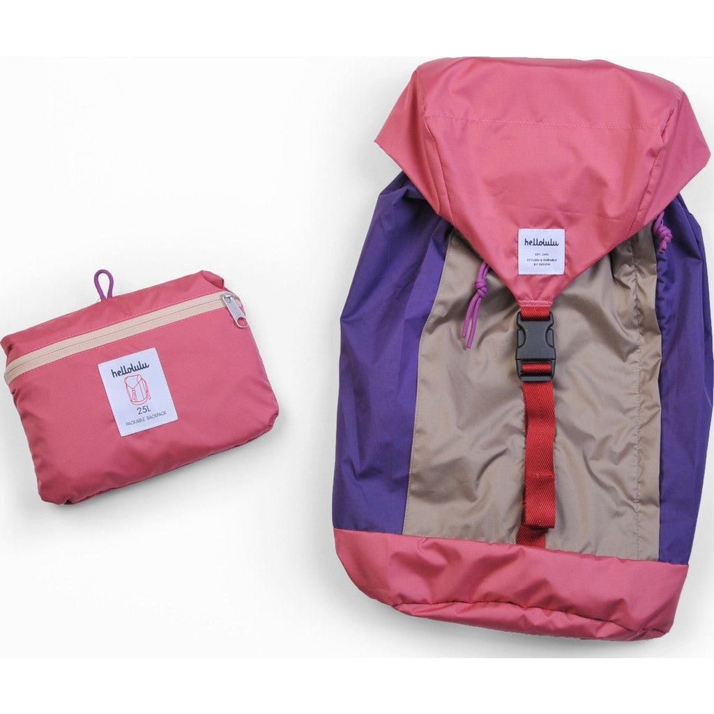 Hellolulu Fran Packable 25L Backpack | Pink HLL-80012-PNK