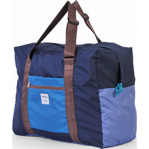 Hellolulu Hali Packable 35L Duffel Bag | Blue HLL-80013-BLU