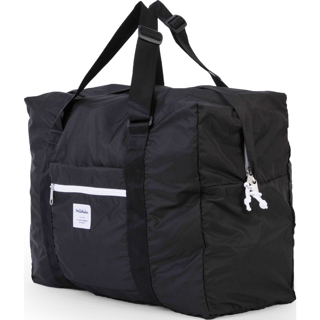 Hellolulu Hali Packable 35L Duffel Bag | Black HLL-80013-BLK