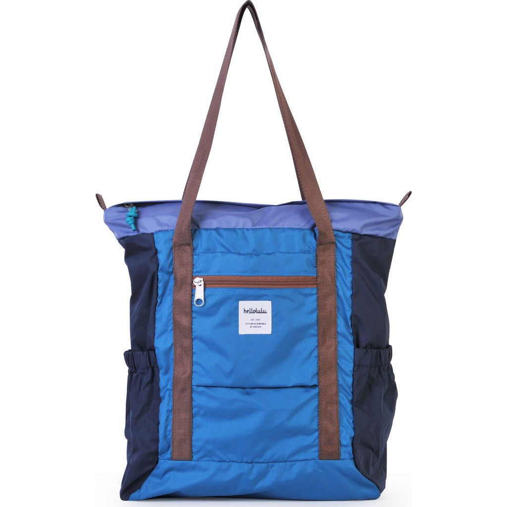 Hellolulu Macon Packable 19L Tote Bag | Blue HLL-80014-BLU