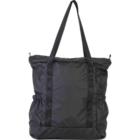 Hellolulu Macon Packable 19L Tote Bag | Black HLL-80014-BLK