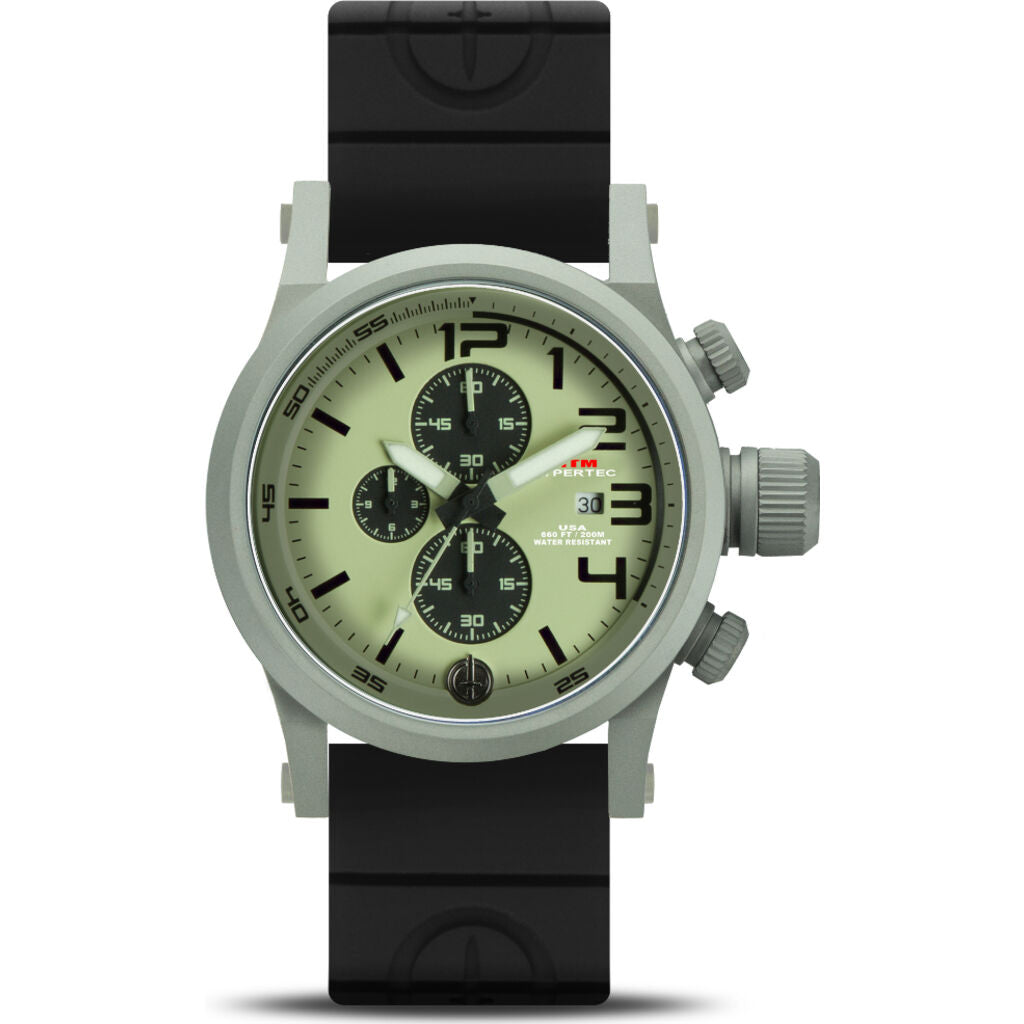 MTM Special Ops Hypertec Chronograph 3A | Grey/Gray/Black Rubber II
