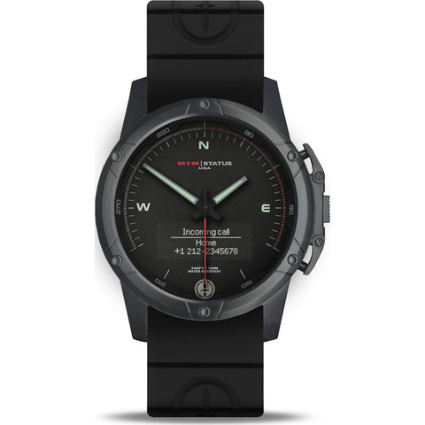 MTM Special Ops Status Watch | Black/Black Lumi II/Black Rubber II
