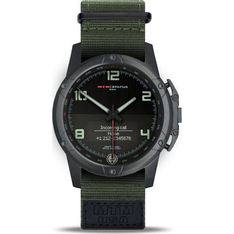 MTM Special Ops Status Watch | Black/Lumi I/Nato Green