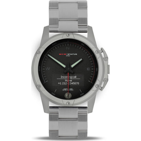MTM Special Ops Status Watch | Gray/Black II/Steel Band