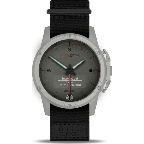 MTM Special Ops Status Watch | Gray/Silver II/Nato Black