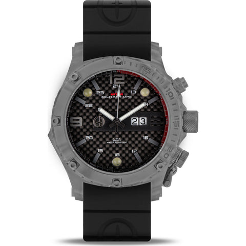 MTM Special Ops Vulture Watch | Grey/Black/Black Rubber II