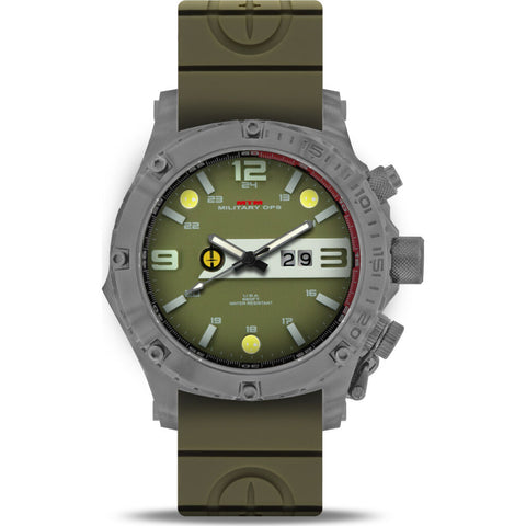 MTM Special Ops Vulture Watch | Grey/Green/Green Rubber II