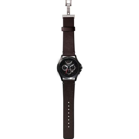MTM Special Ops 42 Oconus Watch | Black/Black II/Leather Black